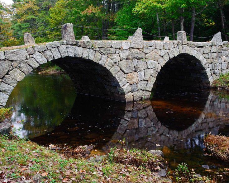 Hillsborough Nh Stone Arch Bridges Five Granite Arch