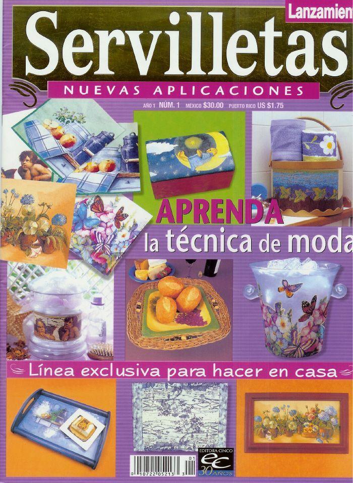 REVISTAS DE MANUALIDADES GRATIS: Revista de Decoupage