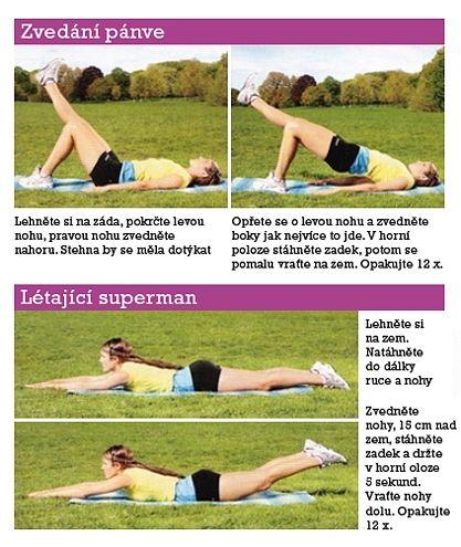 Cvičení na zadek - DIETA.CZ