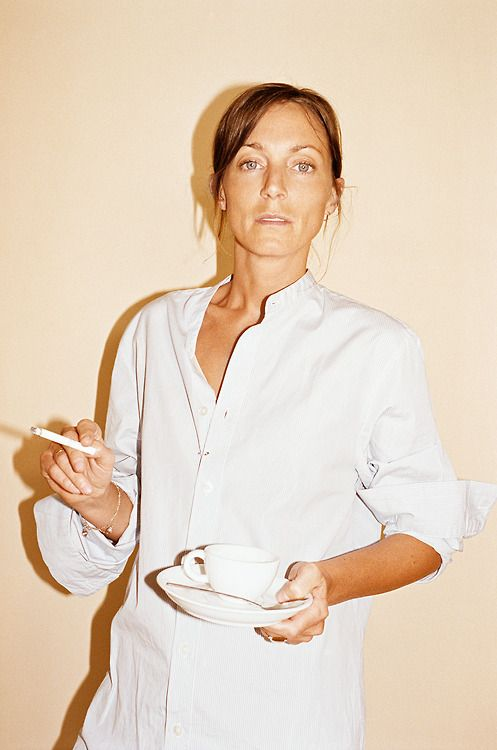 Phoebe Philo for Le Monde Style.