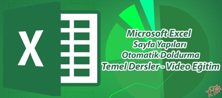 #Microsoft #Office #Excel e #Giriş, #Sayfa Yapıları #Ve #Otomatik #Doldurma | #Fikir #Proje #Ajans  http://www.fpajans.com  #fikir #proje