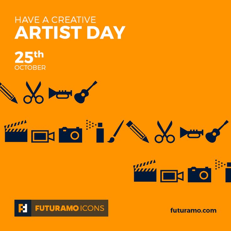 Have a creative Artist Day! All icons used in the series are available in our App. Imagine what YOU could create with them!  Check out our FUTURAMO ICONS – a perfect tool for designers & developers on futuramo.com #futuramo  #futuramoapps  #futuramoicons  #futuramocalendar #icondesign  #icons  #iconsystem  #pixel #pixelperfect  #flatdesign  #ux  #ui  #uidesign  #design #developer  #webdesign  #app  #appdesign #graphicdesign