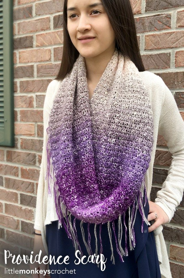 Free Crochet Pattern Infinity Scarf With Fringe : 5346 b?sta bilderna om Crochet p? Pinterest Gratis ...