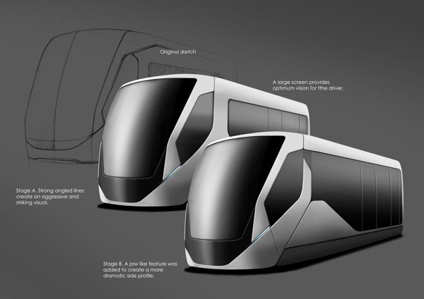 Tram Concepts on Behance
