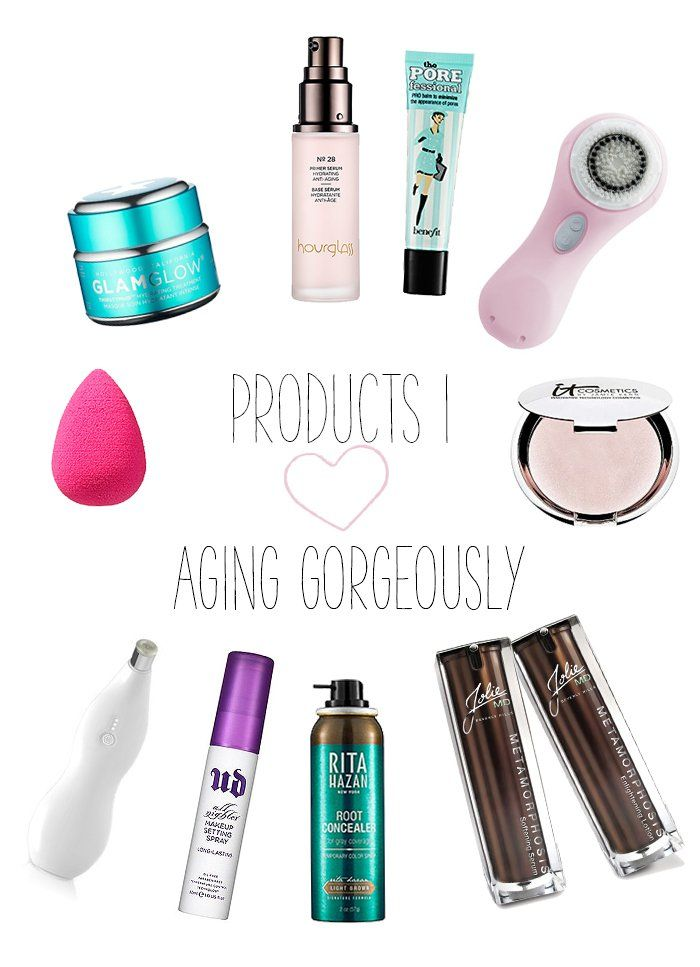 Products I love for aging skin!
