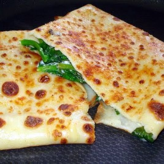 Spinach and Ricotta Cheese Crepe Recipe                                                                                                                                                                                 More