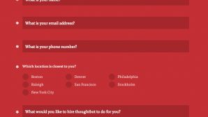 Contact Form from Thoughtbot