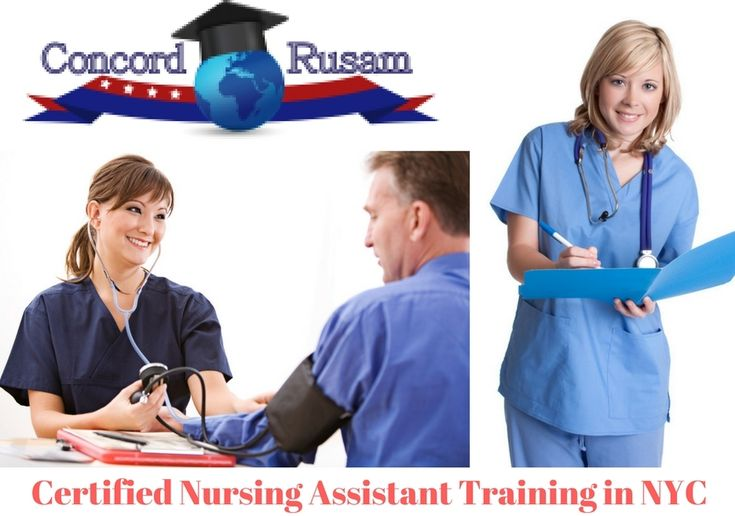 Certified Nursing Assistant Training in NYC