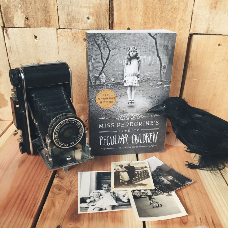 We just love this! Miss Peregrine's Home for Peculiar Children is a brilliant book!