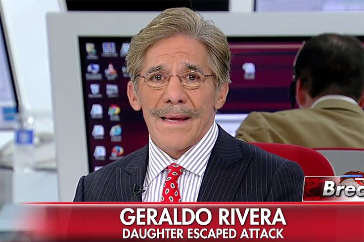 Geraldo Rivera appeared on Fox News to tearfully recount how his daughter escaped from Friday's terrorist attacks across Paris.  Rivera's 21-year-old daughter Simone, who is studying abroad in Paris, was at a soccer match when the stadium came under attack by three suicide bombers.  The soccer