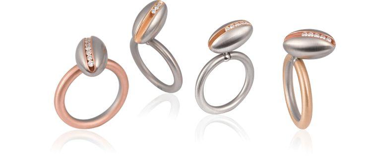 Peanut - lovely amazing rings! Swivel®-PUR