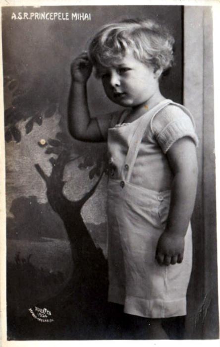 Prince Mihai of Romania.