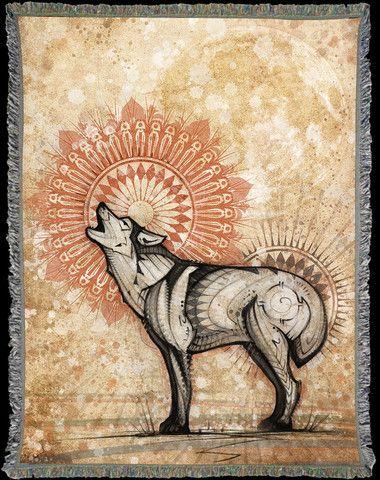 Wolf Totem - Blanket