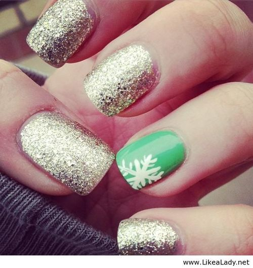 I would paint my nail red instead of green