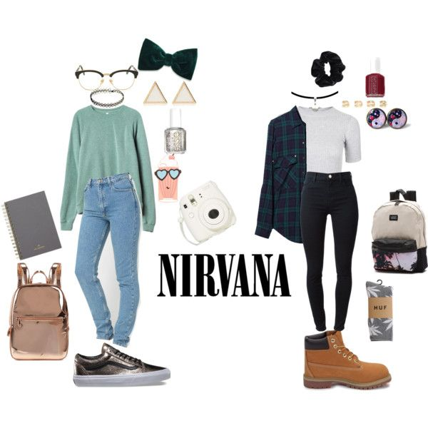 90's Grunge School outfits by stellaluna899 on Polyvore featuring Zara, Topshop, RVCA, J Brand, HUF, Timberland, Vans, DKNY, Maison Margiela and River Island