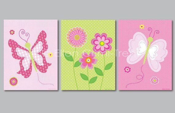 cuadros para niñas con mariposas - Buscar con Google
