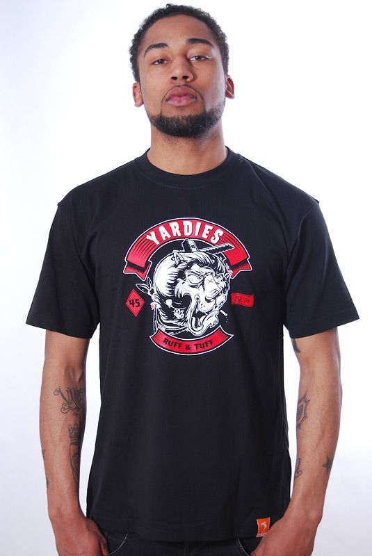 MC YARDIE, T-Shirt, Black