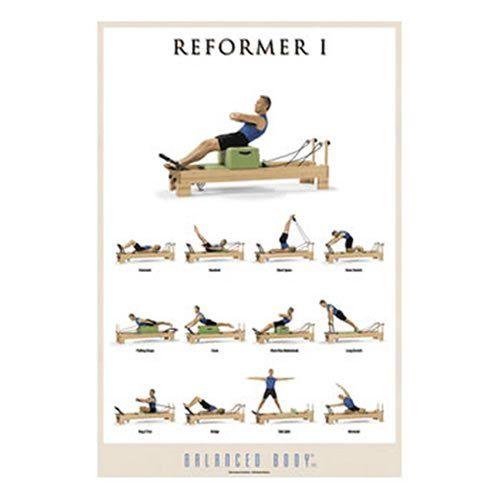 Exercise Poster, Reformer I