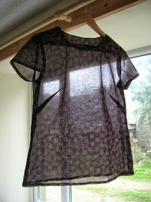 Roobeedoo: FO: Camber Top by Merchant and Mills | The Draper's Daughter