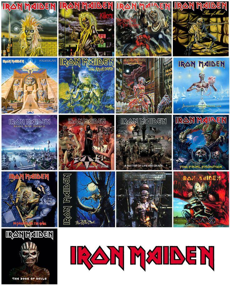 Iron Maiden album sleeves