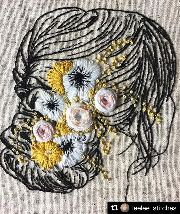 @leelee_stitches #needlework #handembroidery #ricamo #broderie #bordado #embroidery