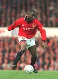 Andy Cole - Former striker Newcastle United and Manchester United. Also playing as a striker for the English national football team