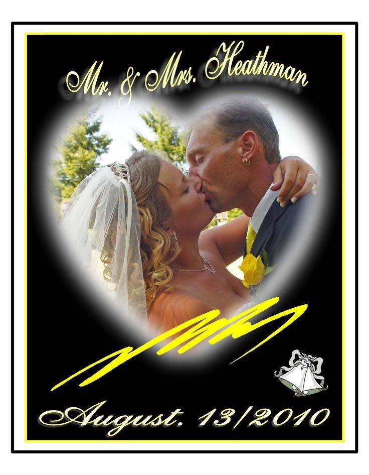 Custom designed wedding Photo Books. (Book Covers) www.rharrisphotos.com