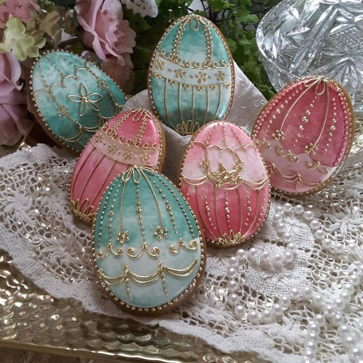 Elegant eggs by Teri Pringle Wood