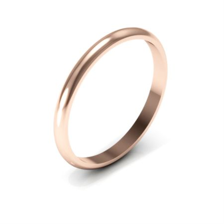 "Got this simple rose gold 2mm band to wear behind the ""Intention"" tri-band ring bf gave me at our 1st anniversary."