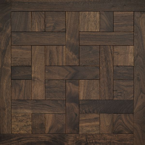 Classic American Walnut | Cheverny Mosaic Wood Floors | Coswick Hardwood Floors