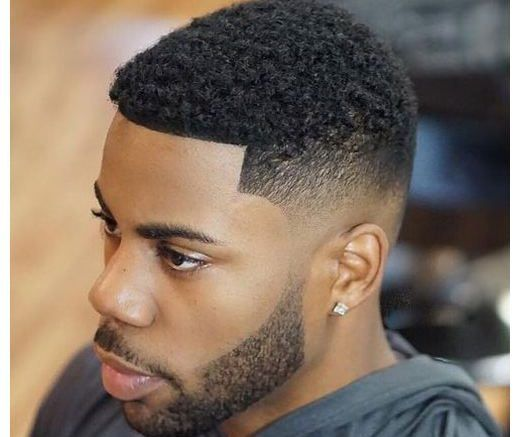 Black Men�s Haircuts + Styles 2018 https://www.menshairstyles2018.com/black-mens-haircuts-styles-2018/  #Hair #Styles #HairStyles #HairCuts #BlackMensHaircuts