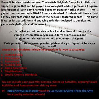 Más de 25 ideas increíbles sobre Volleyball warm ups en Pinterest - physical education lesson plan template
