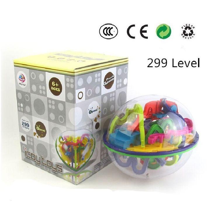 299 ebene 3D Magie Maze Ball perplexus magische intellekt ball pädagogisches spielzeug Marmor Puzzle Spiel perplexus bälle IQ Balance spielzeug