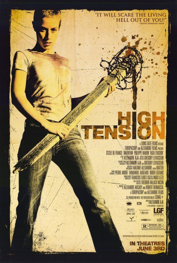 14 best cool high tension posters images on pinterest horror films horror movies and scary. Black Bedroom Furniture Sets. Home Design Ideas