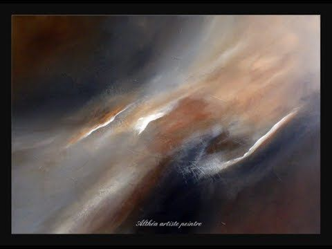 Demonstration of abstract painting – Demonstration of abstract painting (15) – Abstract painting – Althea – YouTube