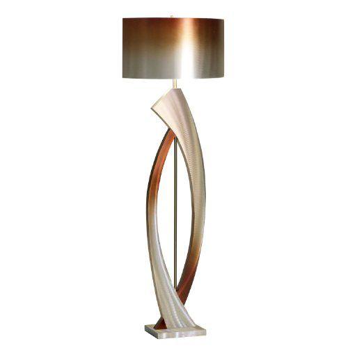 nova lighting jfl4810 swerve floor lamp rust bronze u0026 https