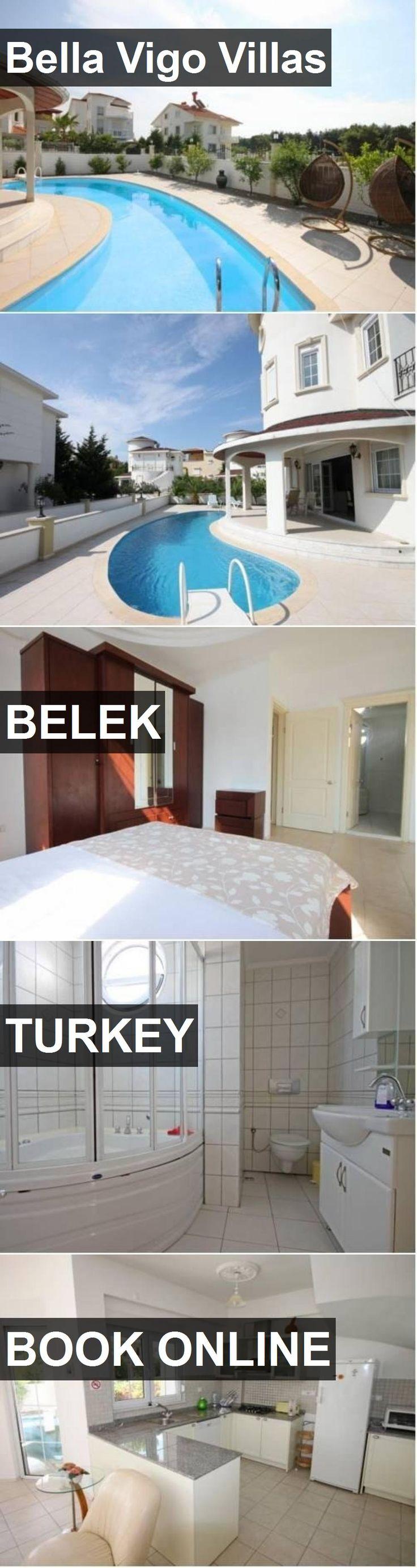 Hotel Bella Vigo Villas in Belek, Turkey. For more information, photos, reviews and best prices please follow the link. #Turkey #Belek #BellaVigoVillas #hotel #travel #vacation