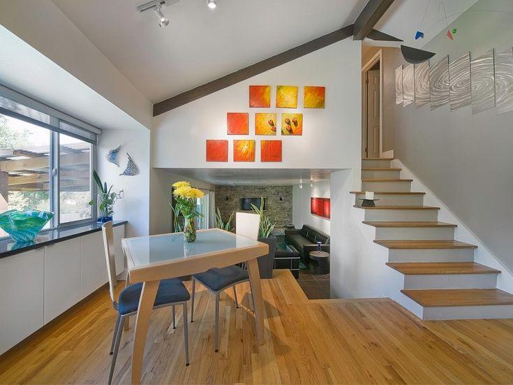 Best 25 tri level remodel ideas on pinterest tri split for Quad level home remodel