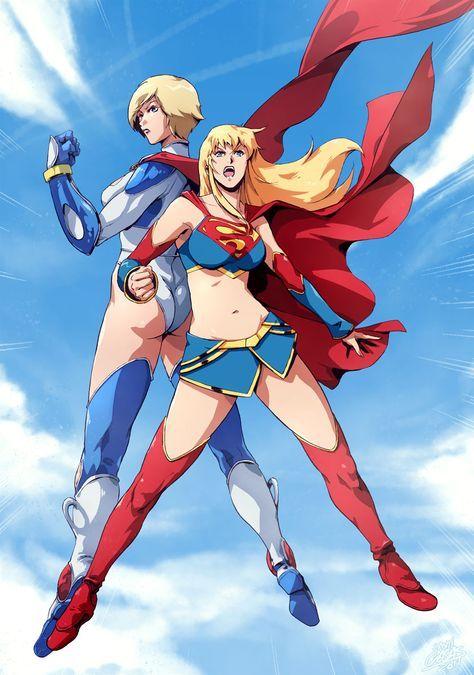 Ame-comi Krypton Girls by *SANTI-IKARI