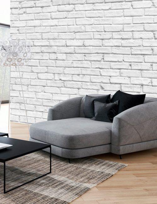 Oltre 25 fantastiche idee su mattoni bianchi su pinterest for Carta da parati effetto muro mattoni