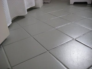 transform your old linoleum or tile floors with paintdiy