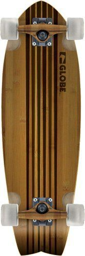 Globe Hg Pin City Bamboo Crusier Board (Natural, 30-Inch) by Globe. $112.67. Features:Globe Pin City Bamboo Cruiser5.375'' Globe trucks62mm, 83a Globe wheels30'' x 9.25'' deckClear grip tape with black tail padGlobe branded striped deck graphic. Save 13%!