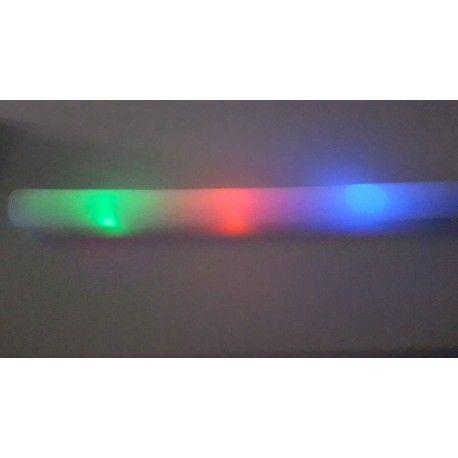 Pour votre soirée de NOËL ou pour votre réveillon du jour de l'an, pensez à nos Bâton mousse Lumineux Fluo = 1.50 € TTC pièce