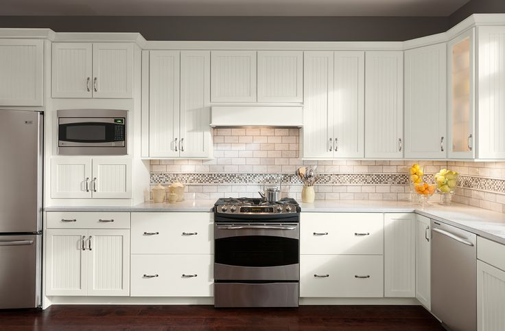 Shenandoah Cabinetry Painted Linen, Cottage door. | Painted ...