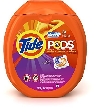 Tide Pods Laundry Detergent Packs Tub, 81 Count as low as $15.99 (reg. $26.44)!