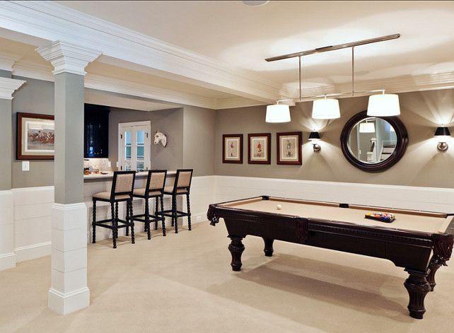 Best 25 pool table lighting ideas on pinterest - Benjamin moore swimming pool paint 042 ...