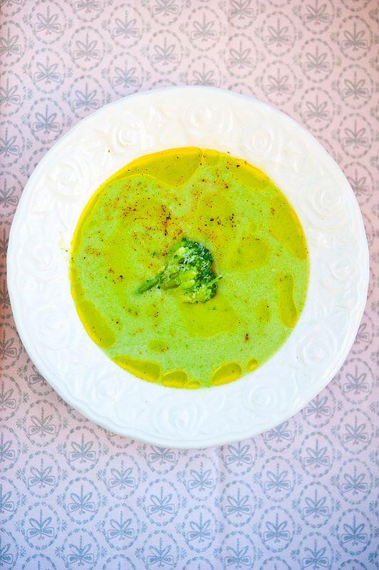 Крем-суп с брокколи и маскарпоне/Vellutata di broccoli e mascarpone