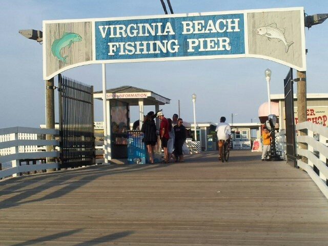 59 best treg life in virginia beach images on pinterest for Virginia beach fishing pier