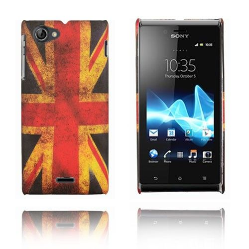 Retro Flag (UK) Sony Xperia J Deksel