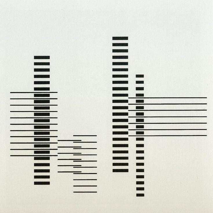 RHYTHM by Josef Albers 1958 / www.bauhaus-movement.com
